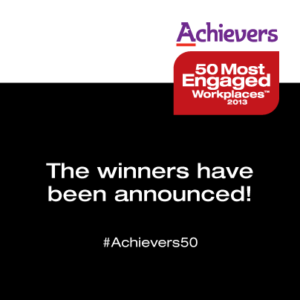 <u>A</u>chievers 50 Most Engaged Workplaces