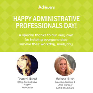 Achievers Administrative Professionals Day Ideas
