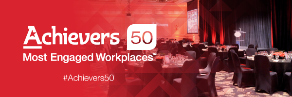 Achievers 50 Most Engaged Awards