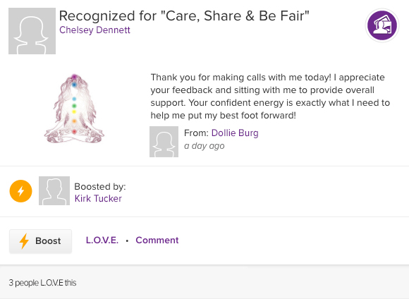 ASPIRE recognition for care, share and be fair