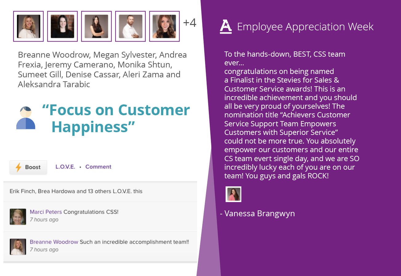 Employee Appreciation Week Recognition Card
