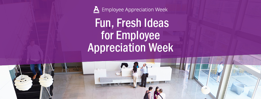 ideas for employee appreciation week