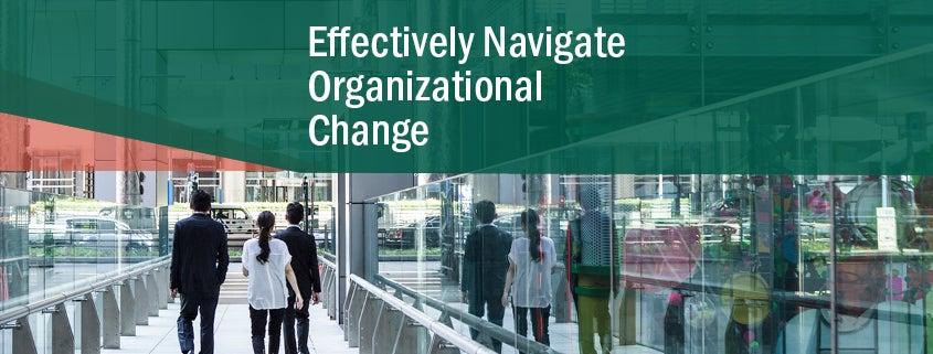 Effectively Navigate Organizational Change