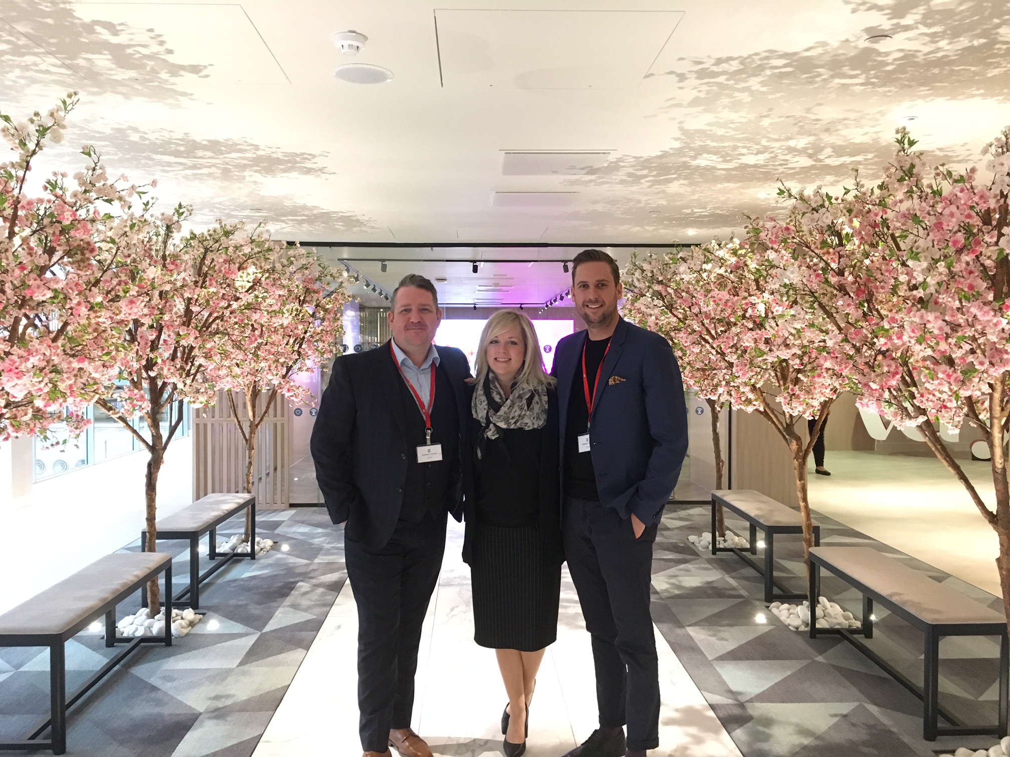 The Achievers EMEA Team at Shop Direct's Central London Office for the Achievers Knowledge Exchange Event.