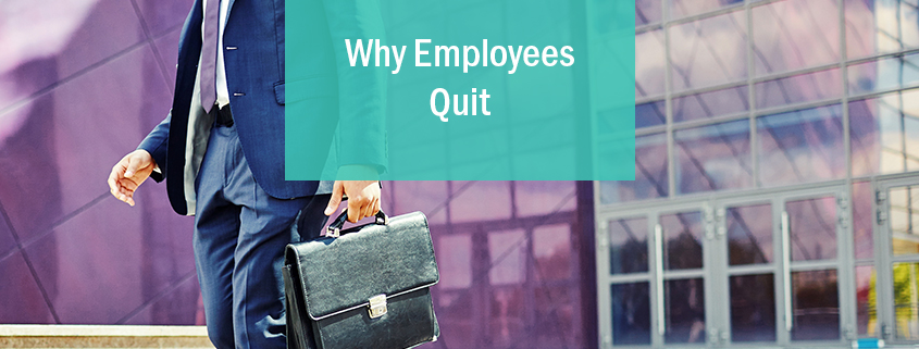 why employees quit