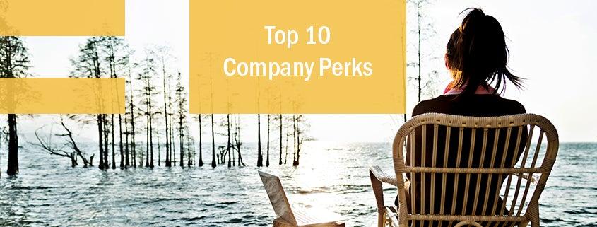 Top 10 Company Perks