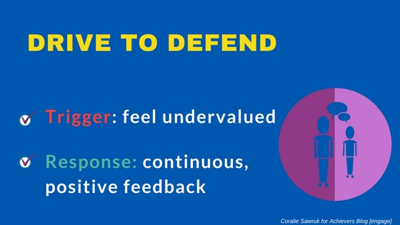 Drive to Defend- Neuroscience and Engagement