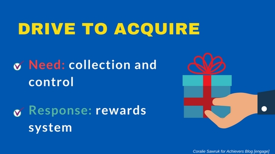 Drive to Acquire - Neuroscience and Engagement