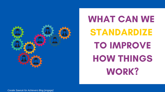 Engagement Innovation Question standardize