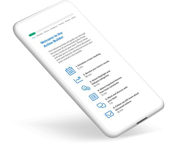 Achievers Listen Employee Experience Phone App