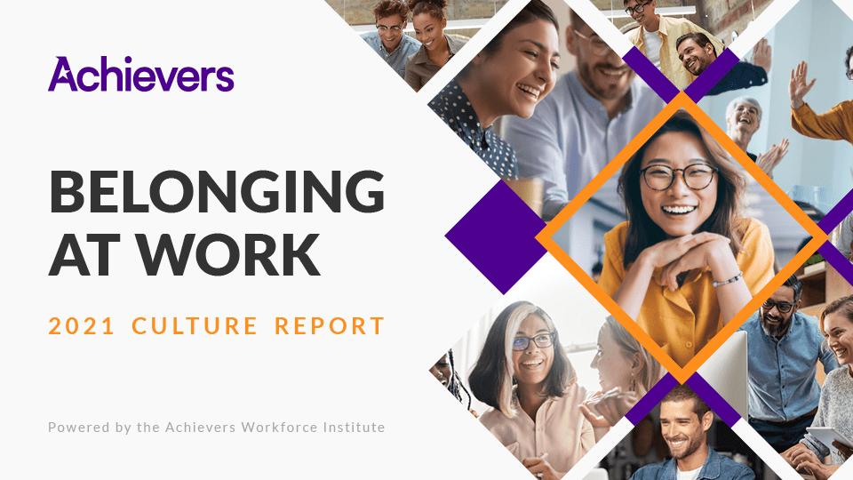 Workforce Institute Culture of Belonging at Work